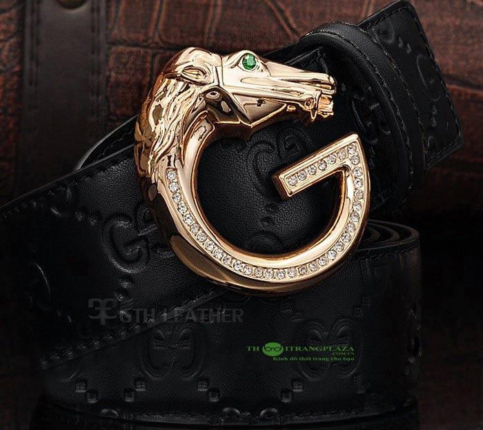Dây lưng nam thời trang cao cấp Gucci