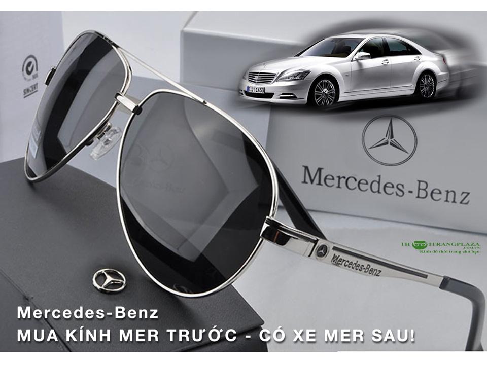 Kính mắt nam thời trang cao cấp Mercedes – Benz