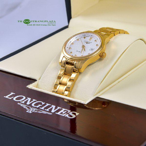 Đồng hồ nữ thời trang cao cấp Longines Gold L06