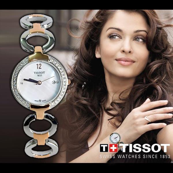 Đồng hồ nữ cao cấp Tissot Gold Diamonds đính đá