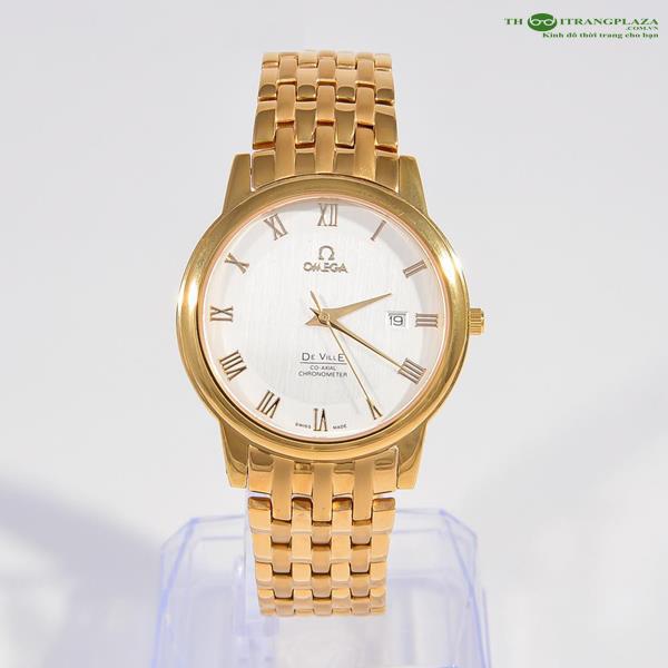 Đồng hồ nam thời trang cao cấp Omega De Ville OM02