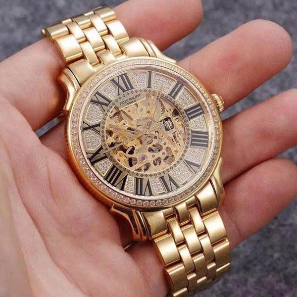 Đồng hồ nam thời trang cao cấp Patek Philippe PT13