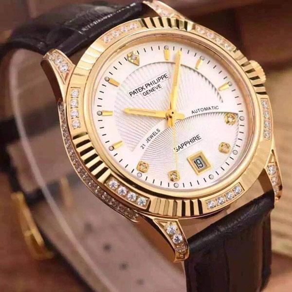 Đồng hồ nam thời trang cao cấp Patek Philippe PT12