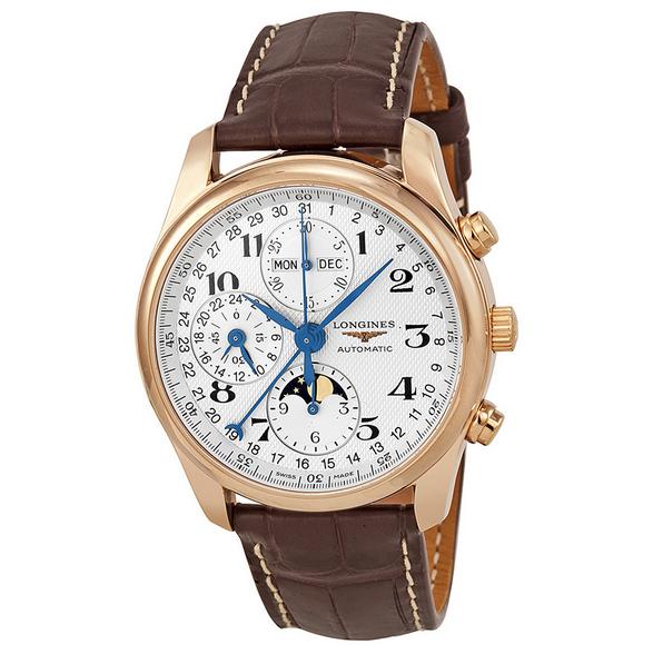 Đồng hồ nam dây da Longines Automatic L2.673.8.78.3
