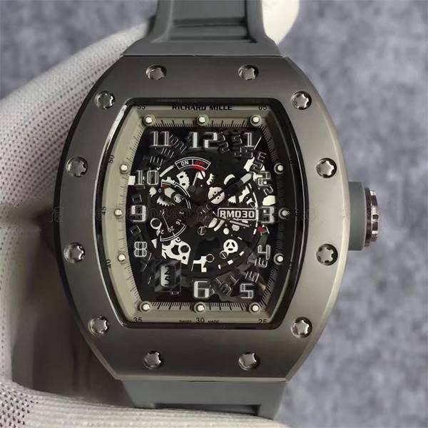 Đồng hồ nam mặt kính cong Richard Mille RM030