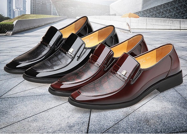 Giày nam cao cấp nhập khẩu Laorentou LR04