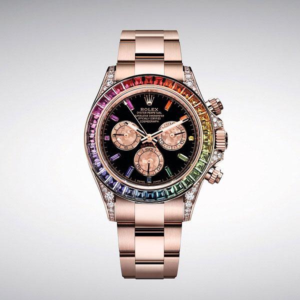Đồng hồ nam Rolex RainBow Daytona 116595RBOW