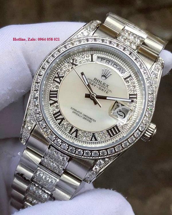 Đồng hồ nam cao cấp Rolex Day-Date 118348