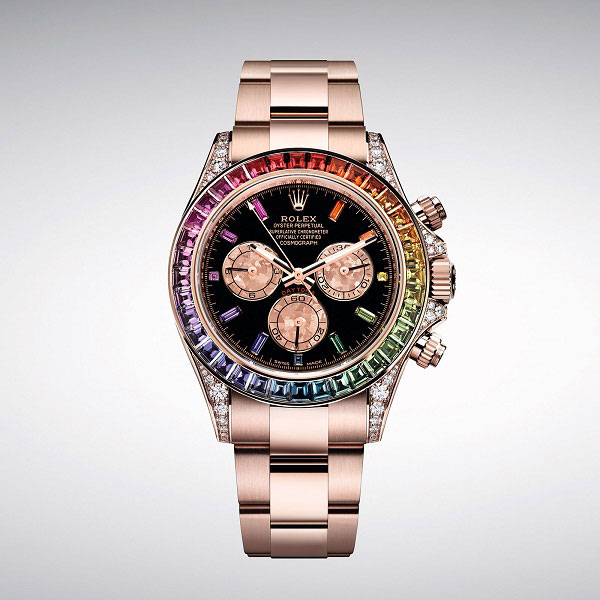 Rolex RainBow Daytona Everose Gold 116595RBOW