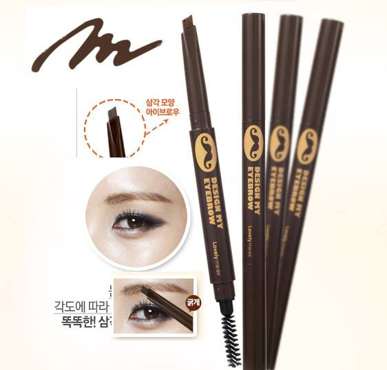 Chì kẻ lông mày The Face Shop Lovely ME:EX Design My Eyebrow