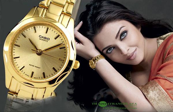 Đồng hồ nữ thời trang Casio Gold Lady