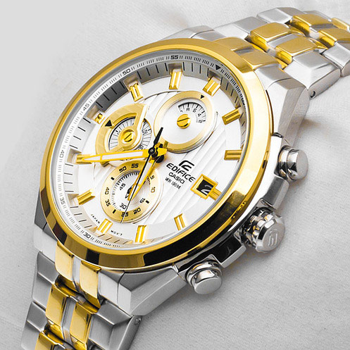 Đồng hồ nam Casio EF-556SG Gold