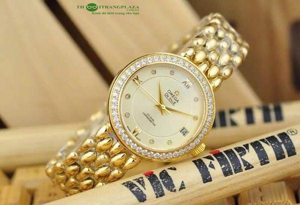 Đồng hồ nữ thời trang cao cấp Omega Deville OM8168