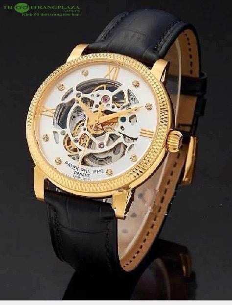 Đồng hồ nam thời trang cao cấp Patek Philippe PT08