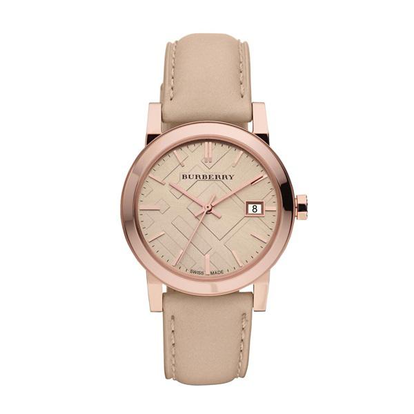 Đồng hồ nữ thời trang cao cấp Burberry dây da BR02