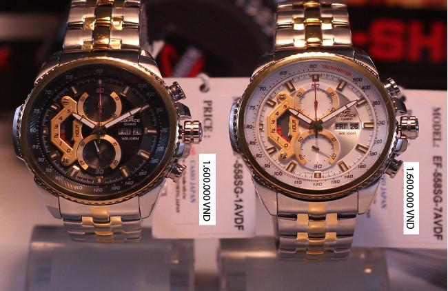 Đồng hồ nam cao cấp Casio Edifice EF-558SG