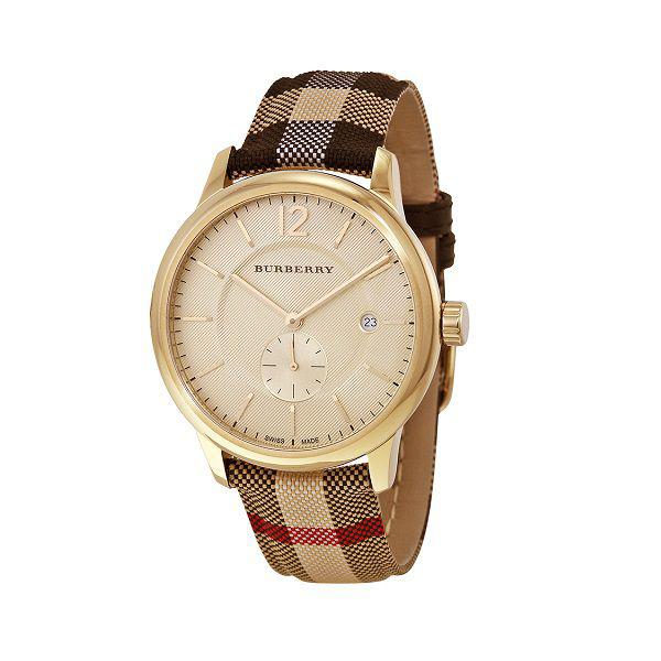 Đồng hồ nữ dây da cao cấp Burberry BR08