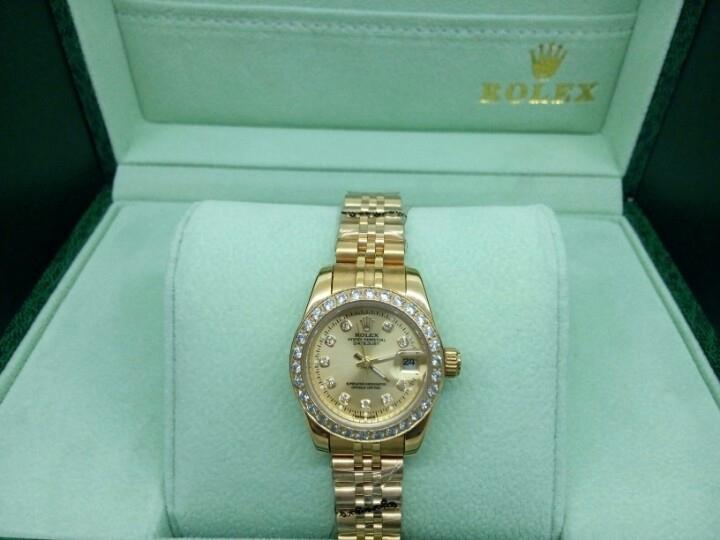 Đồng hồ nữ đính đá Rolex Automatic RL01