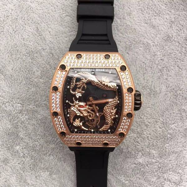 Đồng hồ nam cao cấp Richard Mille Dragon RM057