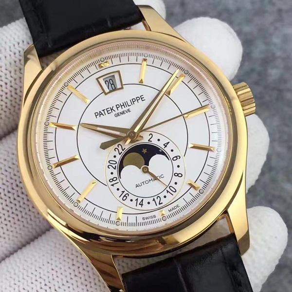 Đồng hồ nam mạ vàng 18K Patek Philippe DH-B5