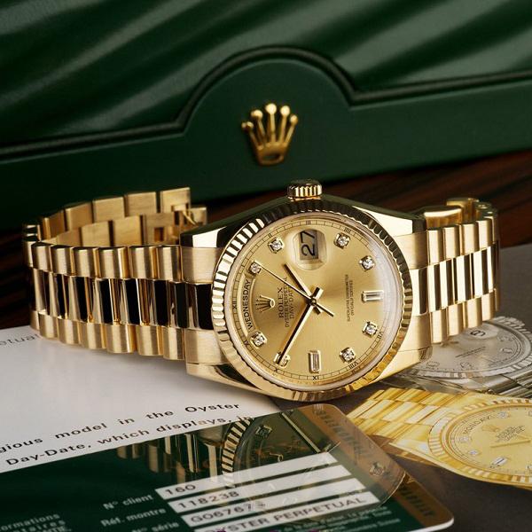 Đồng hồ nam cao cấp Rolex 118.238