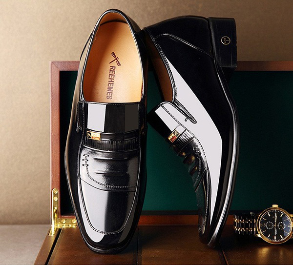 Giày da thật nam cao cấp chính hãng ReeHemes RH02