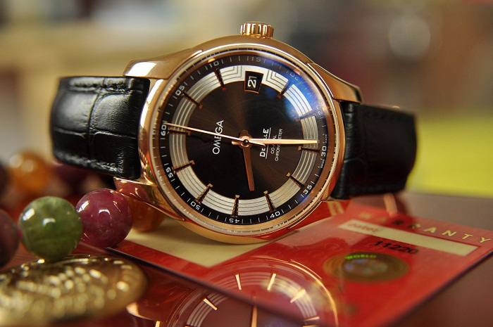 Đồng hồ nam cao cấp Omega DeVille 431.63.41.21.13.001