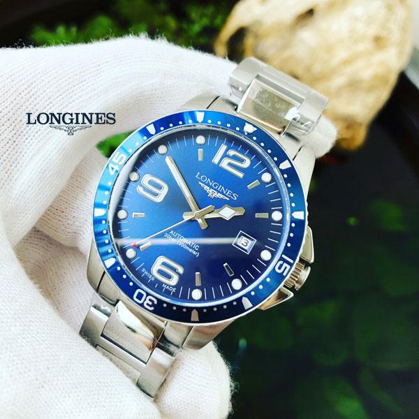 Đồng hồ nam Longines Hydroconquest L3.742.4.96.6